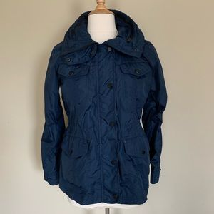 NWOT Michael Kors Windbreaker Hooded Jacket Sz S